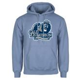 Light Blue Fleece Hoodie-Primary Mark
