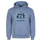 Light Blue Fleece Hoodie-Alumni