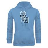 Light Blue Fleece Hoodie-ODU Step