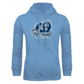 Light Blue Fleece Hoodie-Lady Monarchs