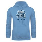 Light Blue Fleece Hoodie-Soccer