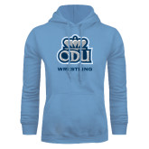 Light Blue Fleece Hoodie-Wrestling
