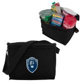 Six Pack Black Cooler-Lion Shield