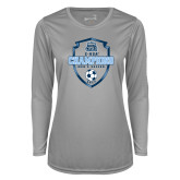 Ladies Syntrel Performance Platinum Longsleeve Shirt-2017 Conference USA Mens Soccer
