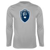 Performance Platinum Longsleeve Shirt-Lion Shield