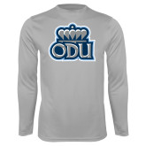 Performance Platinum Longsleeve Shirt-ODU w Crown