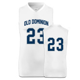Replica White Adult Basketball Jersey-White Basketball Jersey