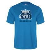 Performance Light Blue Tee-Baseball