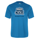 Performance Light Blue Tee-Wrestling