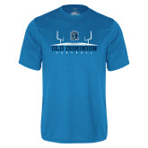 Performance Light Blue Tee-Football Field