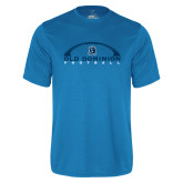 Performance Light Blue Tee-Football Inside