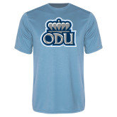 Performance Light Blue Tee-ODU w Crown