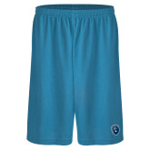 Performance Classic Light Blue 9 Inch Short-Lion Shield