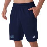 Adidas Navy Clima Tech Pocket Short-Primary Mark
