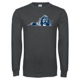 Charcoal Long Sleeve T Shirt-Lion State