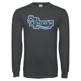 Charcoal Long Sleeve T Shirt-Old Dominion University