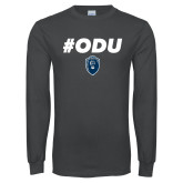 Charcoal Long Sleeve T Shirt-#ODU