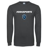Charcoal Long Sleeve T Shirt-#ODUSPORTS