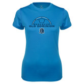 Ladies Syntrel Performance Light Blue Tee-Ball on Top