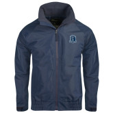 Navy Charger Jacket-Monarchs Shield