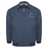 Navy Players Jacket-Monarchs Shield