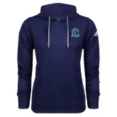 Adidas Climawarm Navy Team Issue Hoodie-Monarchs Shield