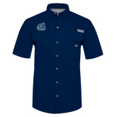 Columbia Bonehead Navy Short Sleeve Shirt-Primary Mark