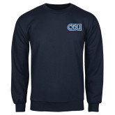 Navy Fleece Crew-ODU