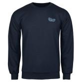 Navy Fleece Crew-Old Dominion University