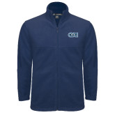 Fleece Full Zip Navy Jacket-ODU