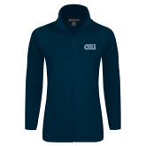 Ladies Fleece Full Zip Navy Jacket-ODU