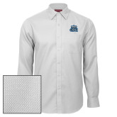 Red House White Diamond Dobby Long Sleeve Shirt-ODU w Crown