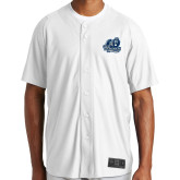 New Era White Diamond Era Jersey-Primary Mark