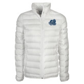 Columbia Mighty LITE Ladies White Jacket-Primary Mark