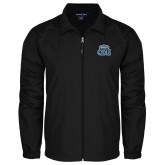 Full Zip Black Wind Jacket-ODU w Crown