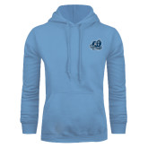 Light Blue Fleece Hoodie-Primary Mark