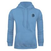 Light Blue Fleece Hoodie-Monarchs Shield