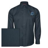 Red House Deep Blue Herringbone Long Sleeve Shirt-Monarchs Shield