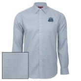 Red House Light Blue Diamond Dobby Long Sleeve Shirt-ODU w Crown