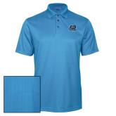 Light Blue Performance Fine Jacquard Polo-Primary Mark