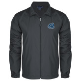 Full Zip Charcoal Wind Jacket-Primary Mark