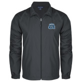 Full Zip Charcoal Wind Jacket-ODU w Crown
