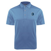 Light Blue Dry Mesh Polo-Monarchs Shield