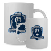 Full Color White Mug 15oz-Monarchs Shield