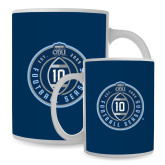 Full Color White Mug 15oz-10 Years Football