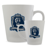 Full Color Latte Mug 12oz-Monarchs Shield