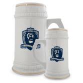 Full Color Decorative Ceramic Mug 22oz-Monarchs Shield