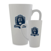 Full Color Latte Mug 17oz-Monarchs Shield