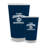 Full Color Glass 17oz-Conference USA Womens Golf Champions