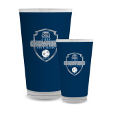 Full Color Glass 17oz-2017 Conference USA Mens Soccer